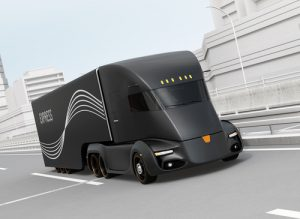 """Read more about the article """"Why Do You Need a Driver's Cabin When There's No Driver?"""" : All-Electric Driverless Truck Was Unveiled"""